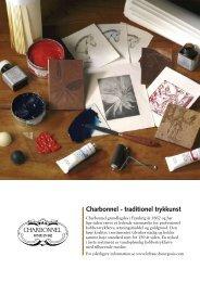 Charbonnel - traditionel trykkunst - Colart