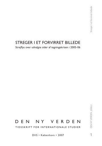 Muhammed-krisen og den nye dobbelthed i dansk ... - DIIS