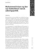 Muhammed-krisen og den nye dobbelthed i dansk ... - DIIS - Page 2