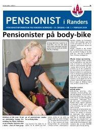 Pensionister på body-bike - Randers Kommune