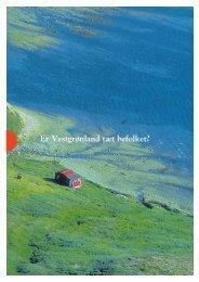 Er Vestgrønland tæt befolket? - Greenland Guide