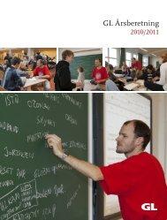 GL Årsberetning - Gymnasieskolernes Lærerforening