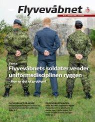 Flyvevåbnets soldater vender uniformsdisciplinen ryggen