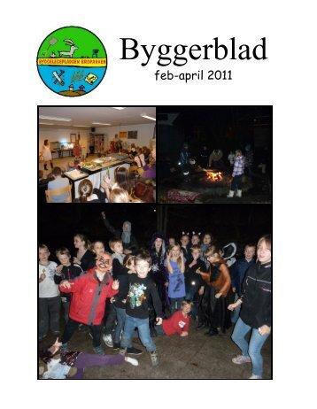 Byggerblad februar - april 2011
