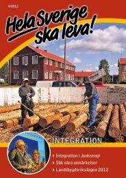 INTEGRATION - Hela Sverige ska leva