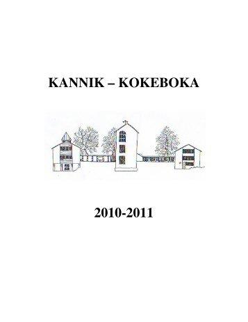 KANNIK ΠKOKEBOKA - Linksidene