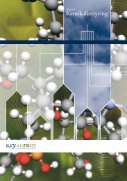 Manual i Kemikaliestyring - Key2Green