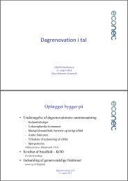 Dagrenovation i tal - Dakofa