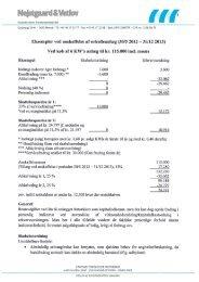 Pris eksempel/besparelse - Ditlevsen & Skov Installationer A/S