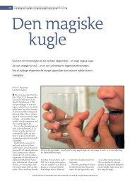 Visionen om fremstillingen af det perfekte lægemiddel - Aktuel ...