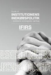 InstItutIonens IndkøbspolItIk - Danske Erhvervsskoler
