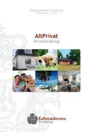 AltPrivat - Købstædernes Forsikring