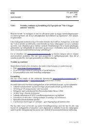 """Produkt, resultater og formidling af § 5-projekt om """"Når vi bygge"""