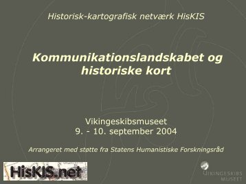 Jan Bill: Introduktion - HisKis