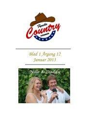 Blad 1 Årgang 12 Januar 2013 - Fynske Country Venner