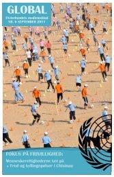 Artikel til Global - FN-forbundet