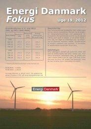 Energi Danmark Fokus uge 19 - 2012