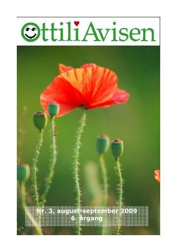 Nr. 3, august-september 2009 6. årgang - Ottilia