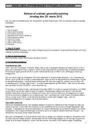 Ordinær generalforsamling 29. marts 2012 (pdf)