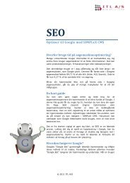 SEO guide - ITL A/S