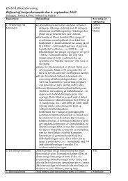 Referat af bestyrelsesmøde den 6. sep 2010 - Østbirk Idrætsforening