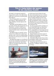 Trin 2: Vælg båden der passer til din maritime livsstil - Dansk Sejlunion
