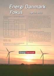 Energi Danmark Fokus uge 19 - 2013