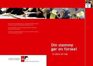 Din stemme gør en forskel - På Let Dansk