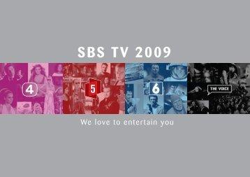 SBS TV 2009
