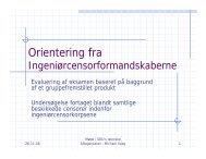 PowerPoint præsentation - CensorNet