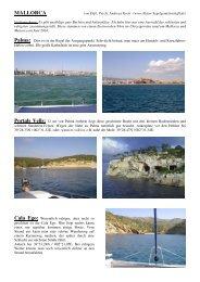 Toernfuehrer Mallorca - Natur-Segelgemeinschaft.de