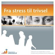 Pjece: Fra stress til trivsel