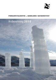 Årsberetning 2010 - Grønlands Naturinstitut