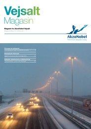 Vejsalt Magasin, udgave 1 - Marts 2013 - AkzoNobel