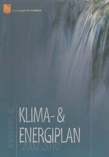 klima og energiplan 2000-2010 - Levanger kommune