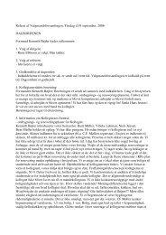 Referat af Valgmandsforsamlingen, Tirsdag d.19 september, 2006 ...