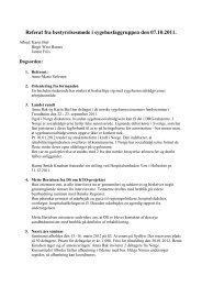 Referat fra bestyrelsesmøde i sygehusfaggruppen den 07