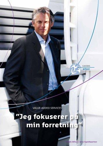 Hent vores Value-added services produktark (PDF) - Geodis Wilson