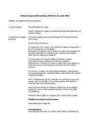 Referat af generalforsamling 2012