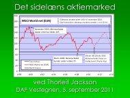 MSCI World net (EUR) - Lay-out DAF Københavns Vestegn