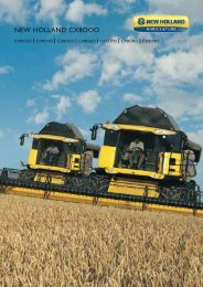 NEW HOLLAND CX8OOO