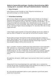 Referat fra generalforsamling 2012 - Nordfyns Biavlerforening
