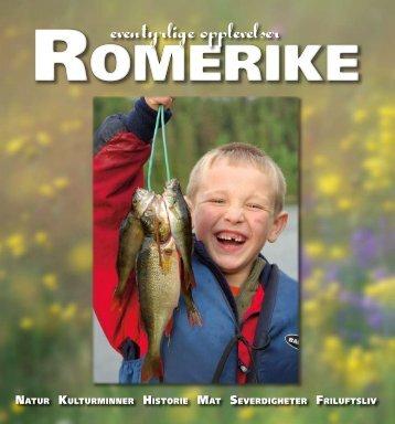 ROMERIKE — eventyrlige opplevelser. Last ned PDF - Øystein Søbye
