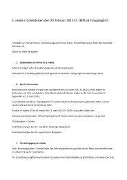 Referat fra mødet februar 2013 - Labrador Retriever