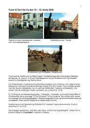 Turen til Sort Sol fra den 16 – 19. marts 2008 - Ældre Sagen