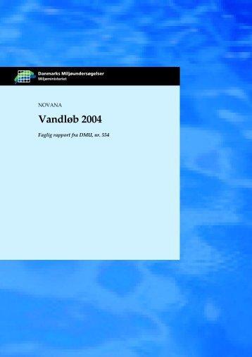 Vandløb 2004