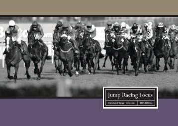 Essentials of the sport for investors 2012–13 Edition - Jump Racing