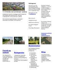 Formål og indhold Redegørelse Bestemmelser Bilag - Lokalplaner ...