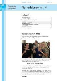 Nr. 4 - 03.06.2013 - Gentofte Hospital