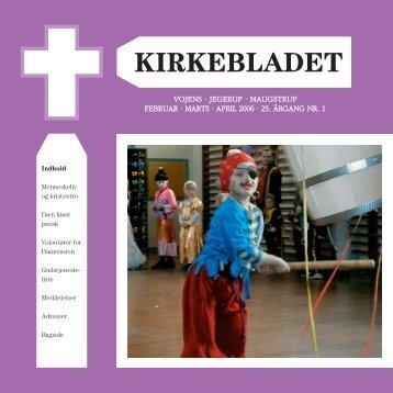 jegerup · maugstrup februar · marts · april 2006 · 25 ... - Vojens Kirke